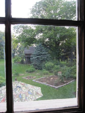 Musser's Historic Country Suites: View from loft bed.