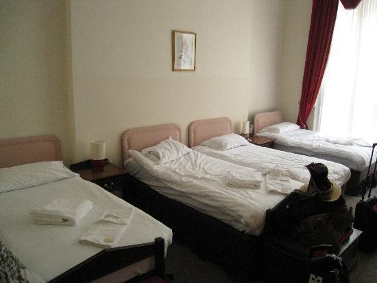 York House Hotel: En suite family room