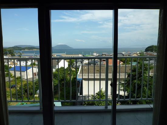 Hotel Kainanso: 部屋からの眺望