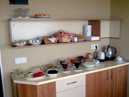 Aura Apart Hotel : Breakfast
