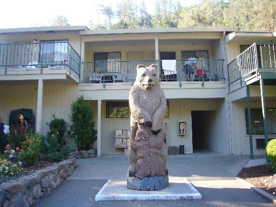 Yosemite Cedar Lodge: 熊がいろんなところにいます