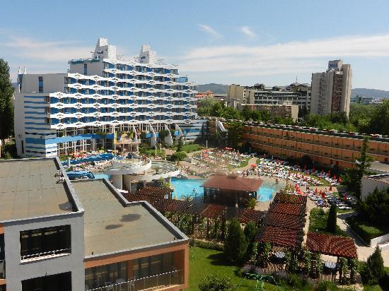 Trakia Garden Hotel : вид с балкона