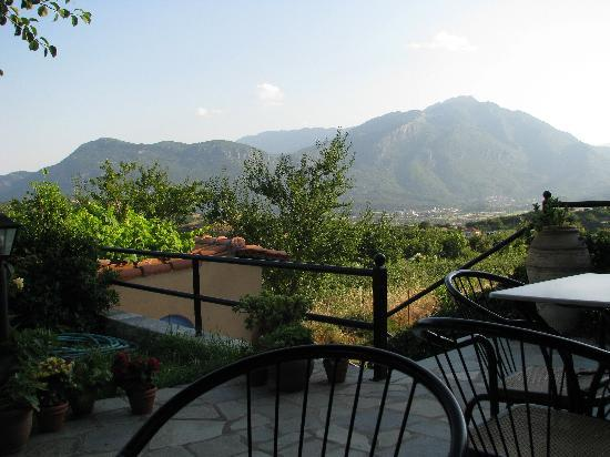 Doupiani House Hotel: View from patio