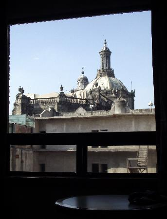 Hotel Catedral: view of the catheral from our window