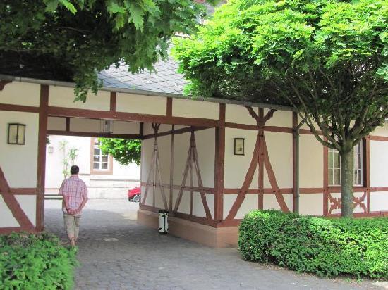 Monastery Karthaus: gate