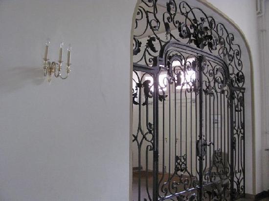 Monastery Karthaus: iron gate