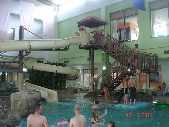 Aquafantasy Aquapark Hotel & SPA: indoor pool