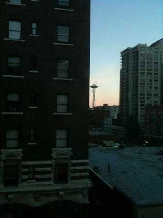 View of Space Needle from Room