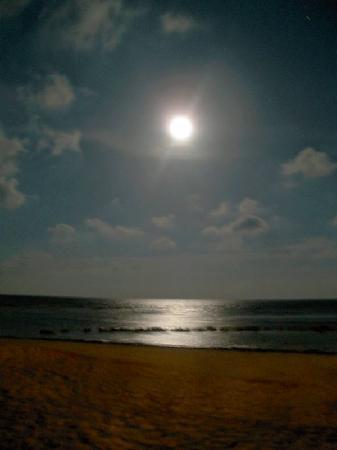 Secrets Silversands Riviera Cancun: Beach at night