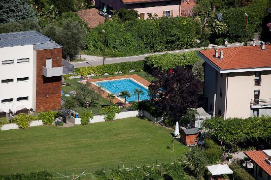 Hotel Villa Stella: Hotel from Above