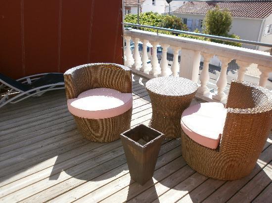 La Chaize : Terrasse