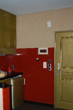 Kitchenette at Hotel Tony