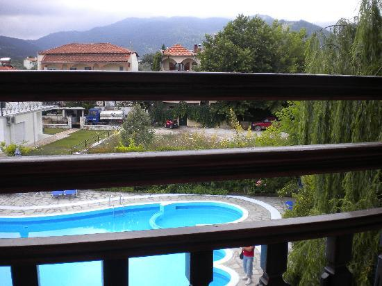 Hotel Macedon: the pool :)