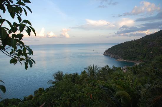 Seaview Bungalows Thansadet: Blick vom Seaview Viewpoint runter auf Than Sadet