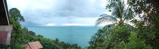 Seaview Bungalows Thansadet: Ausblick von Bungalow Nr. 1