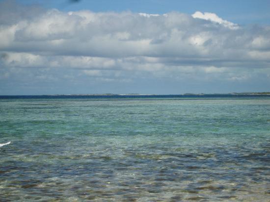 Cayo Francisqui : ..con vista sulla barriera corallina.....
