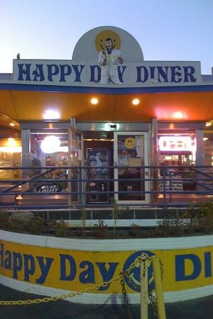 Happy Day Diner: front view