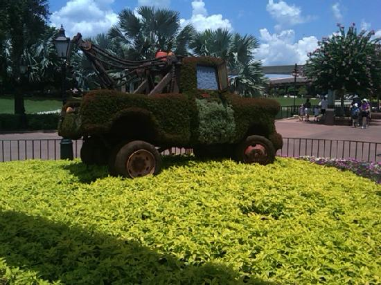 Epcot: Cars the Movie Garden
