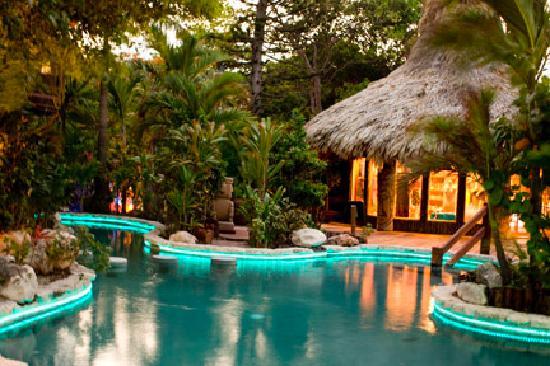 Ramon S Village Resort Dusk At Ramons Pool