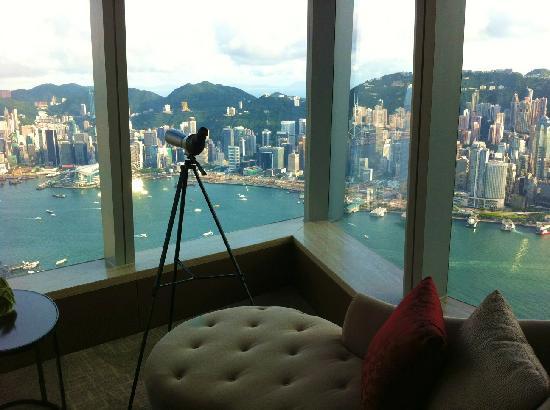 The Ritz-Carlton, Hong Kong: Ausicht aus dem Zimmer