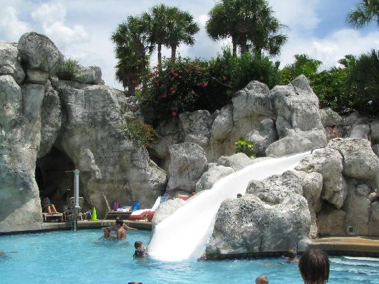 Villas of Grand Cypress : slide @ Hyatt pool