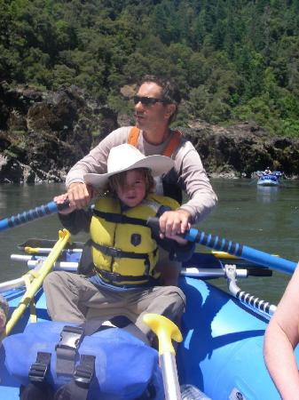 Momentum River Expeditions: River guide in training
