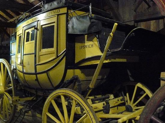 Shelburne Museum: Stagecoach