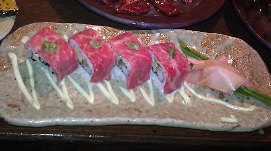 Tamaruya Honten: sushi steak