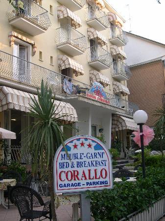 Hotel Corallo: ingresso