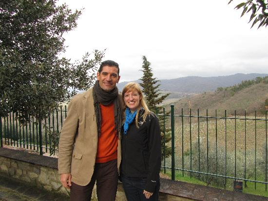 Under The Tuscan Sun Tours: My Wife and Andrea