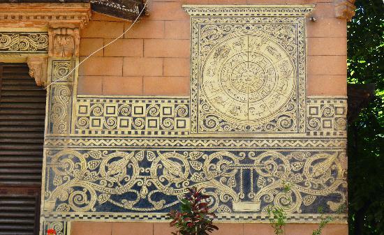 Zodiacal Architectural Adornment, Messina, Sicily, Italy
