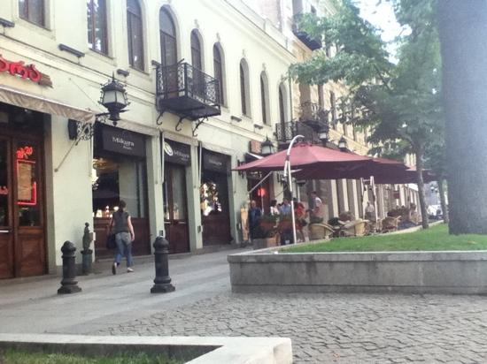 Tbilisi, Georgien: rustaveli str