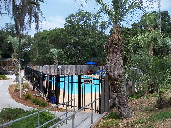 Rivers End Campground and RV Park : The camp's pool