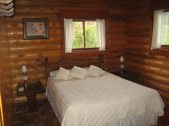 Douglas, WY: Master bedroom of our cabin