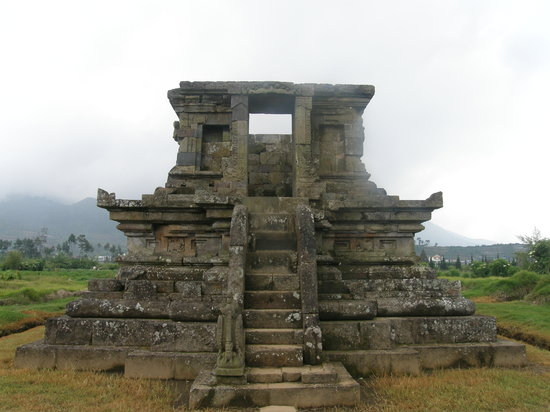 Dieng Volcano: kleiner Hindutempel