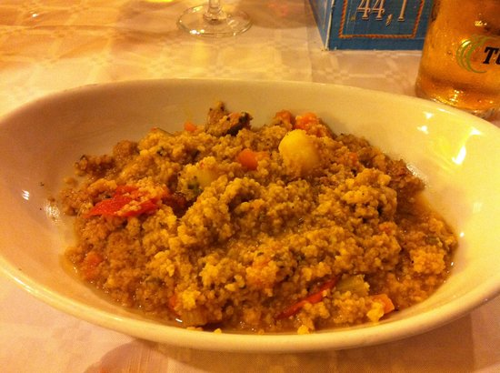 Al Delfino: The terrible couscous