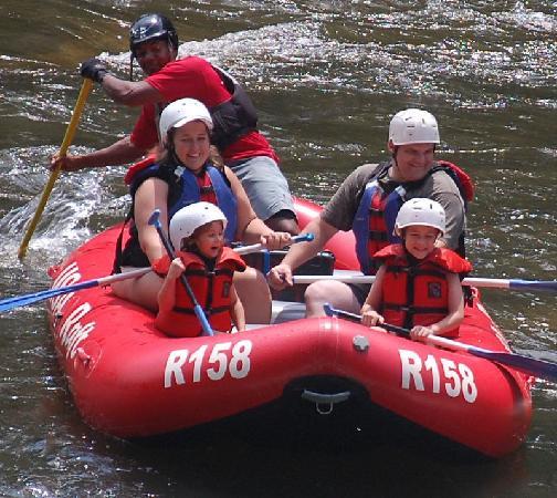 USA Raft: Rapids on the trip