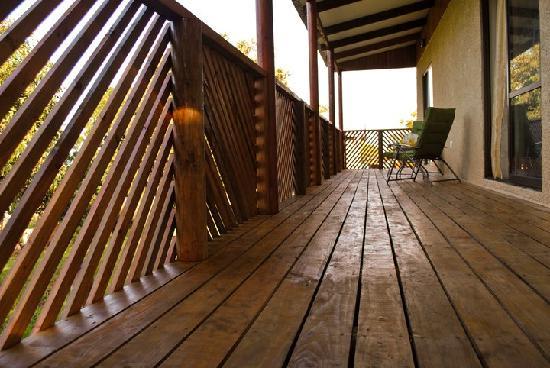Chez Steve Residencia Kyle Mio: terrasse