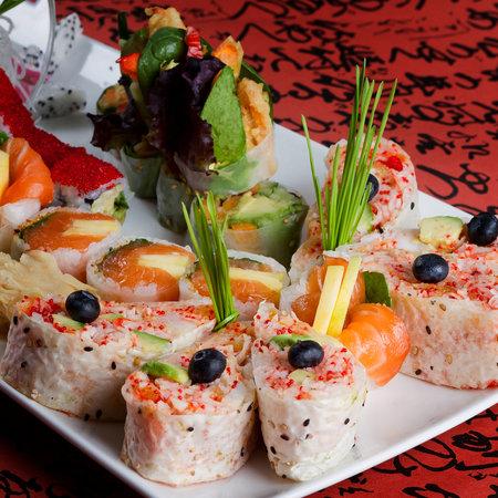 Fushi : Crepe Sushi