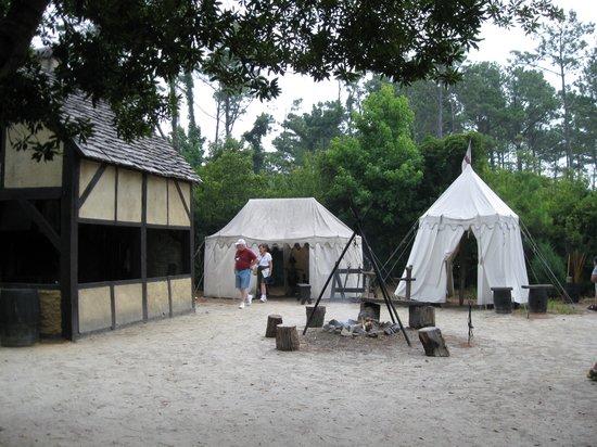 Roanoke Island Festival Park : settlement