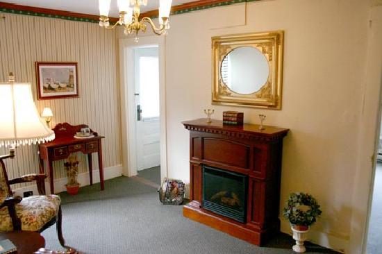 A La Cornemuse: Salon privé de la suite St. Andrews'
