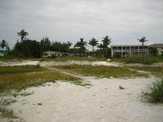 Seaside Inn: vue depuis la mer