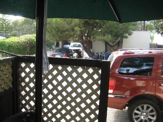 Old Yacht Club Inn Vacation Rentals: The view from our 'garden patio' ;)