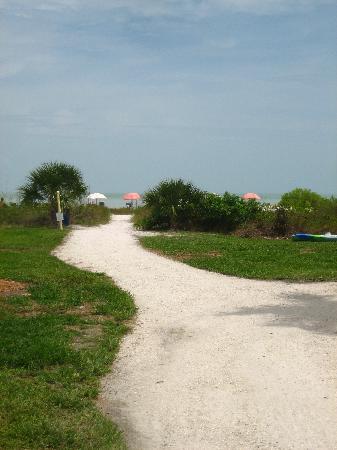 Seaside Inn: chemin vers la plage