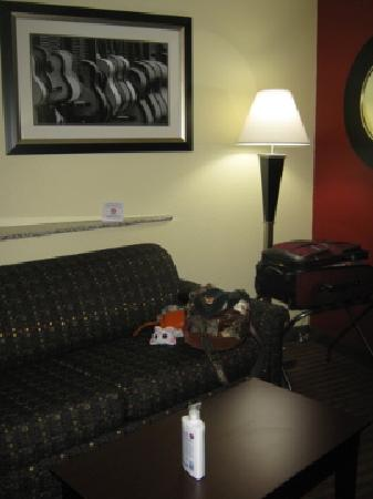 Comfort Suites Mount Juliet: sitting area