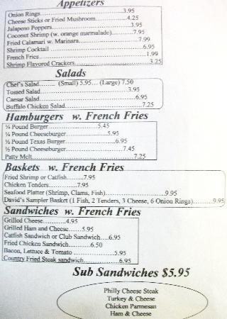 David's Restaurant: American