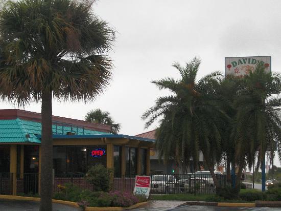 Exterior of David's Restaurant