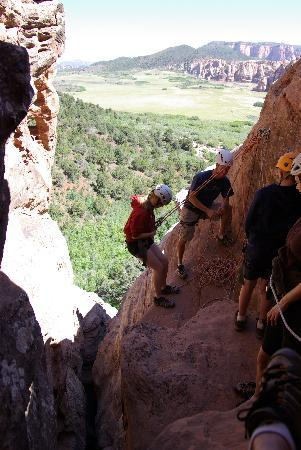 Zion Rock & Mountain Guides: Canyoneering