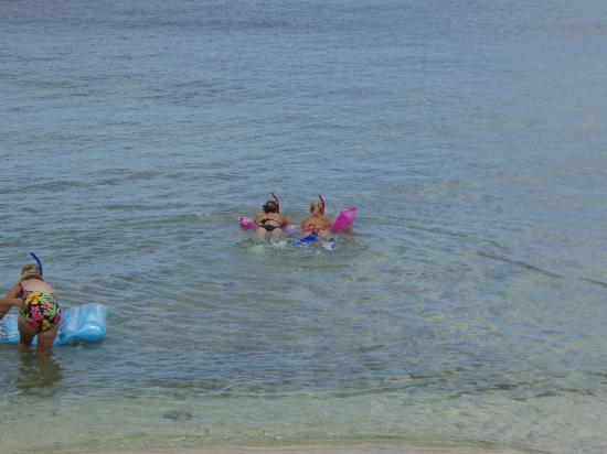 Coral Sands Resort: us snorkeling!