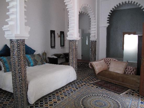 Blanco Riad Hotel & Restaurant: Top Suite room
